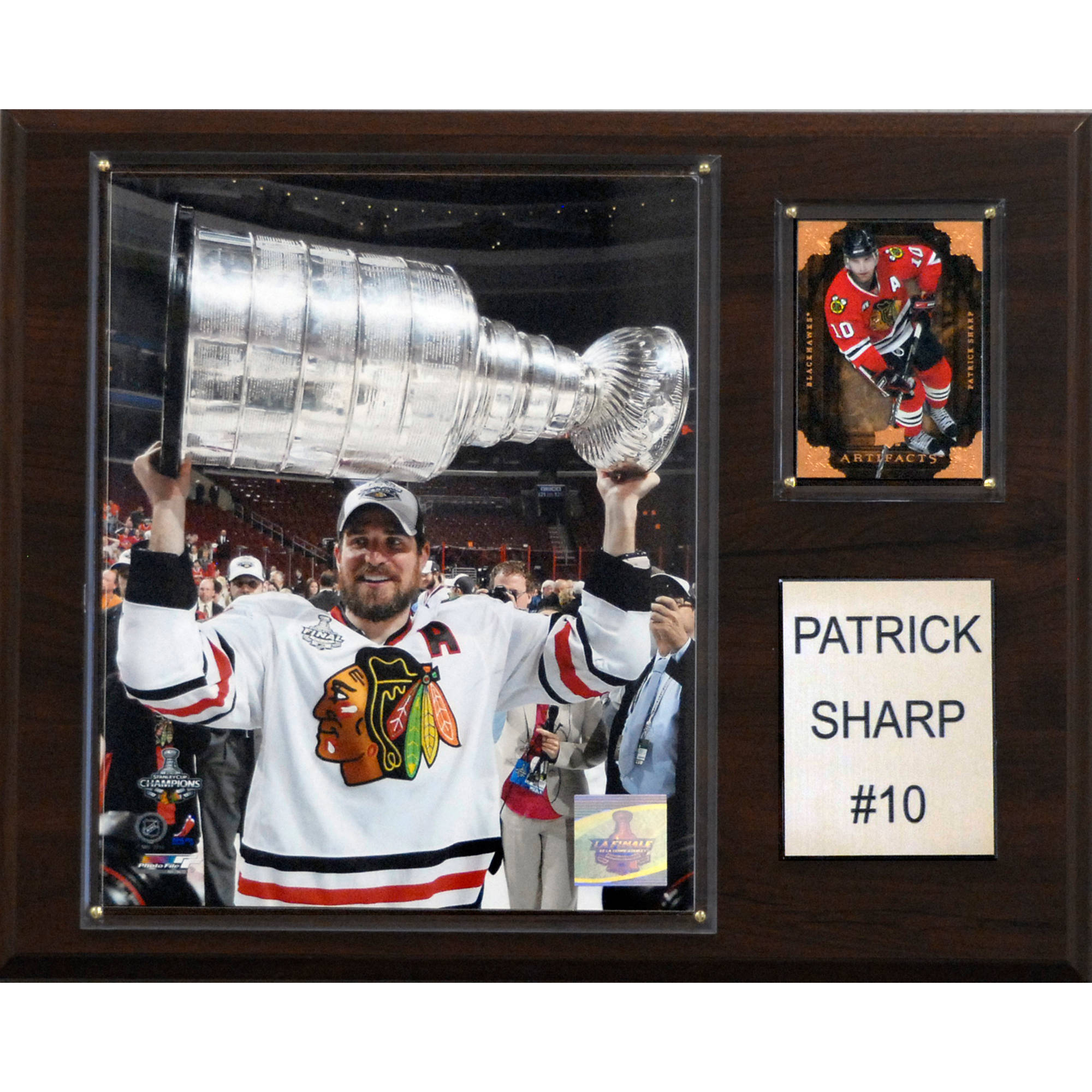C&I Collectables NHL 12x15 Patrick Sharp Chicago Blackhawks Player Plaque