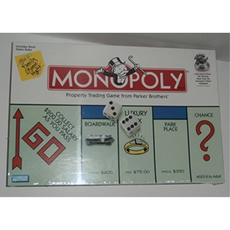 Tokens In Monopoly (Monopoly Property Trading Board Game with Winning Token from the Monopoly Token Campaign )