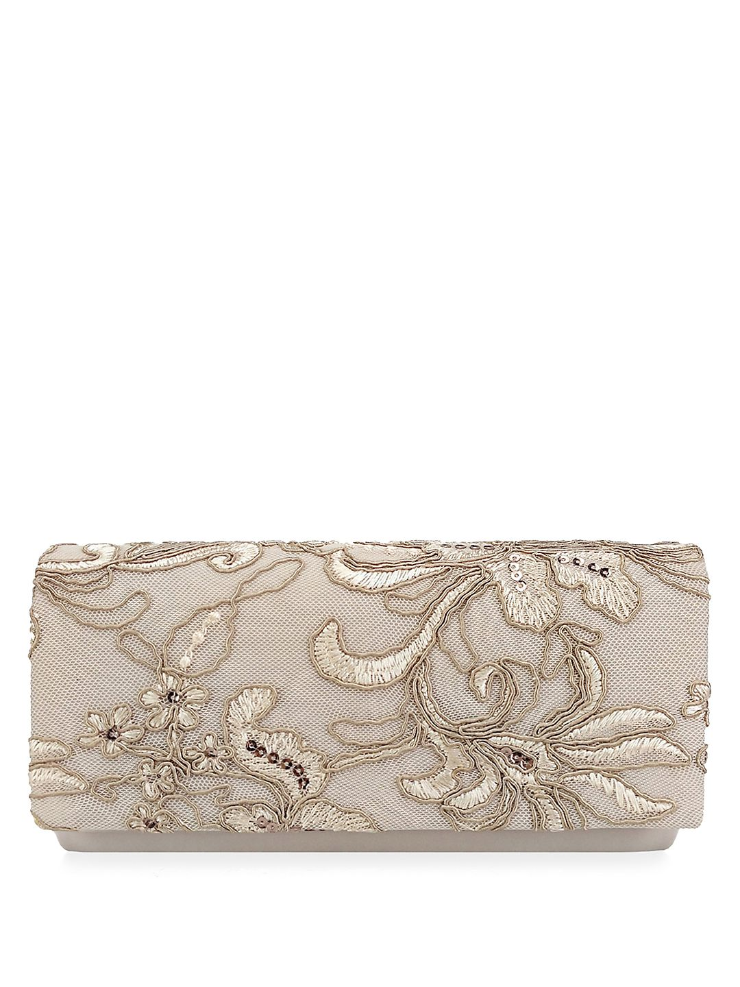 Sibel Flap Oyster Convertible Clutch