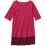 Girls' Elbow Sleeve Shirt Dress