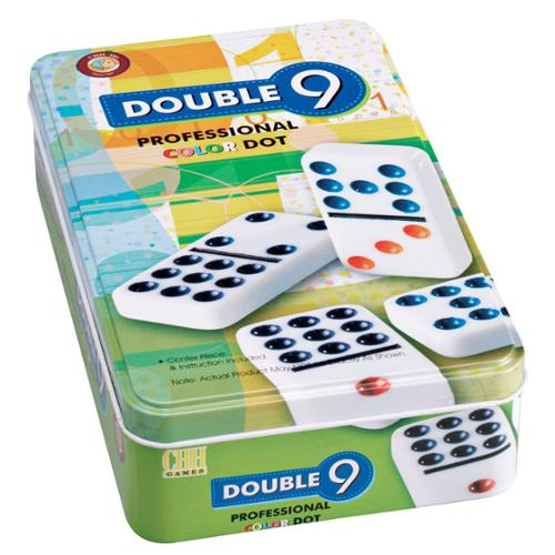 Miles Kimball   Set of Double 9 Dominoes