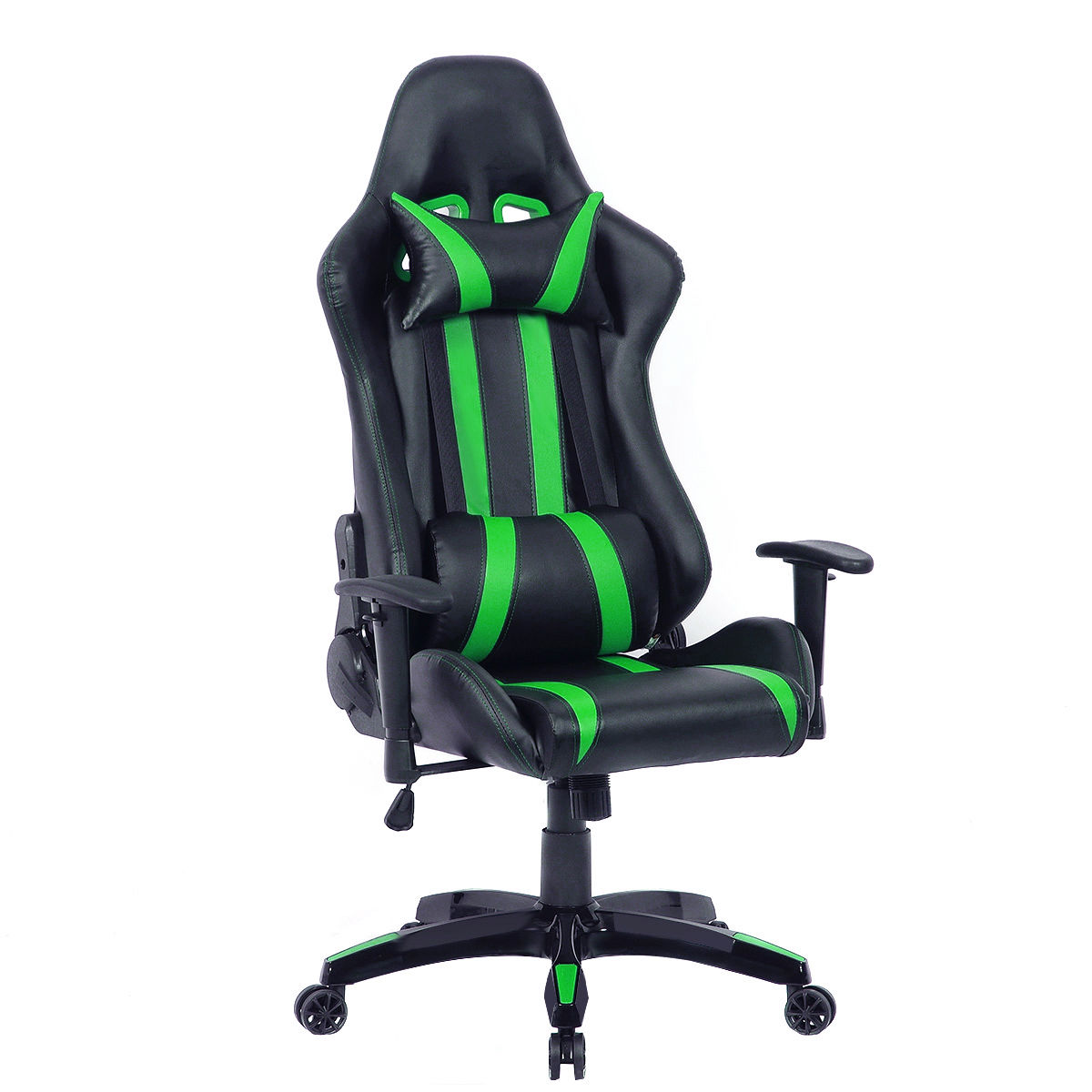 costway executive racing style high back reclining chair gaming