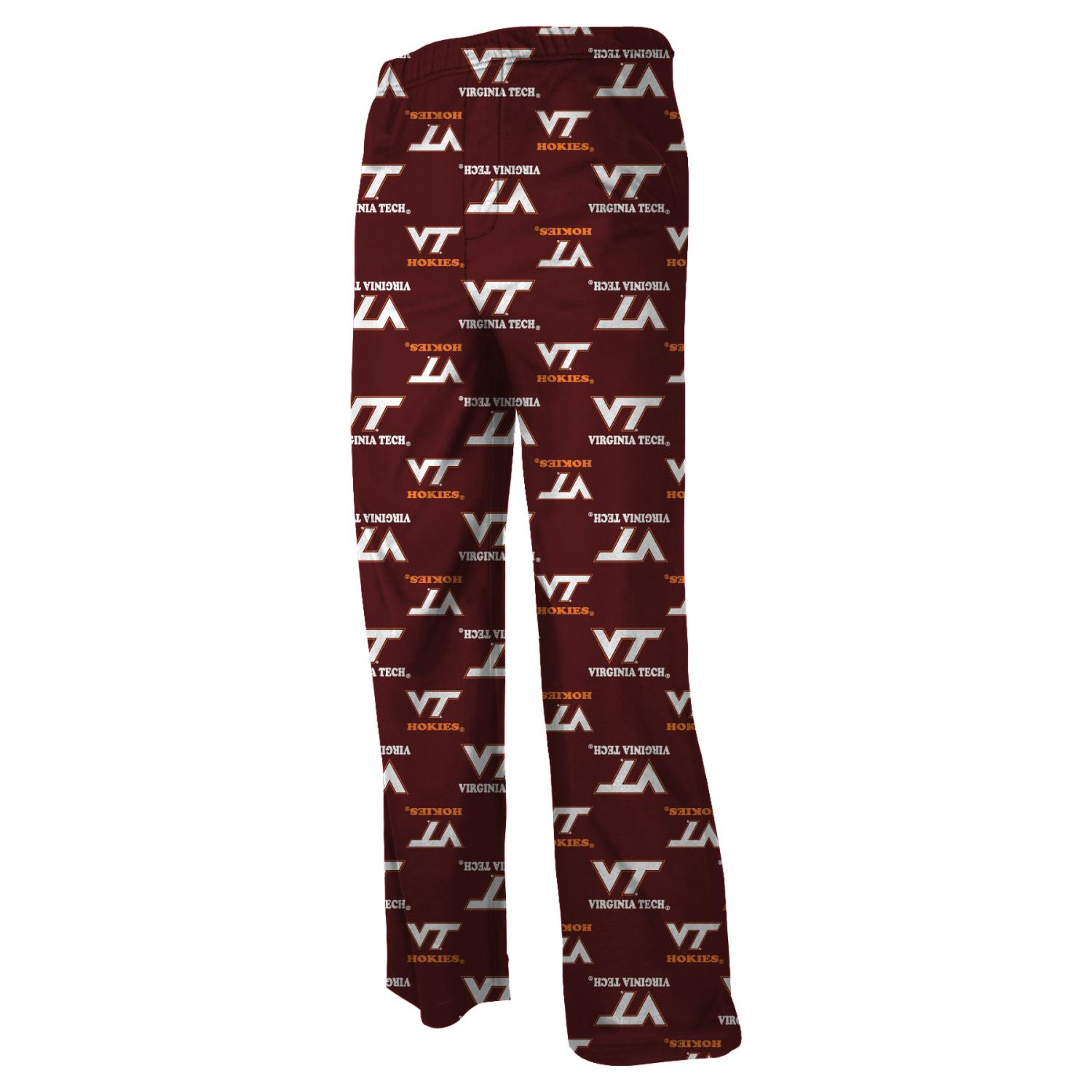 Virginia Tech Hokies Youth NCAA Logo Pajama Pants by Adidas