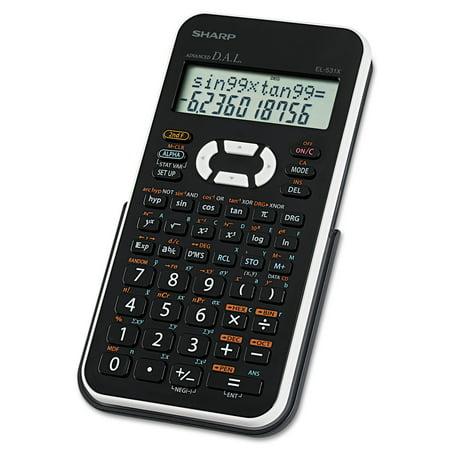 Sharp El 531Xbwh Scientific Calculator  12 Digit Lcd