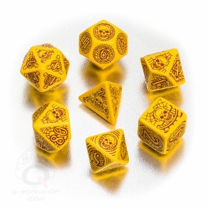 Pathfinder: Skull and Shackles Dice Set (7) Multi-Colored