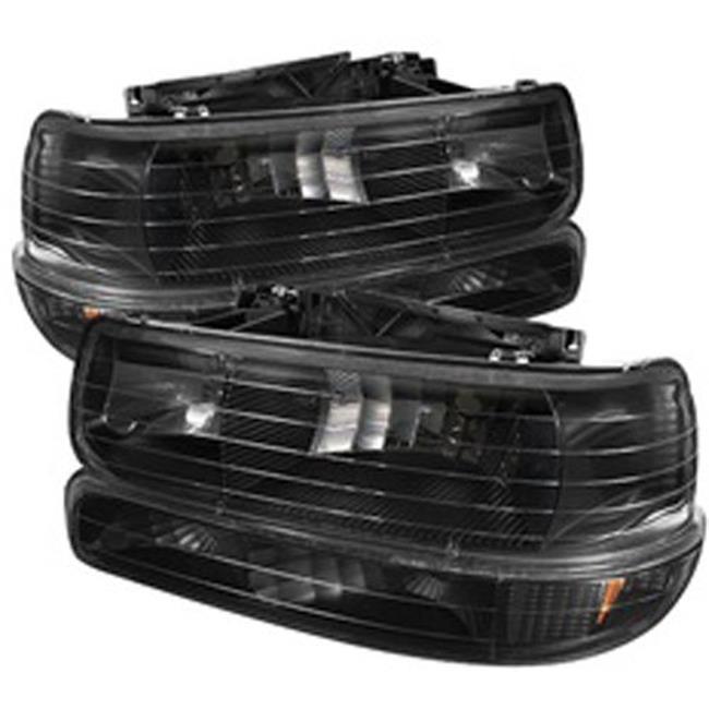 Fog Lights for Chevy Silverado 1500 & 250 - Black
