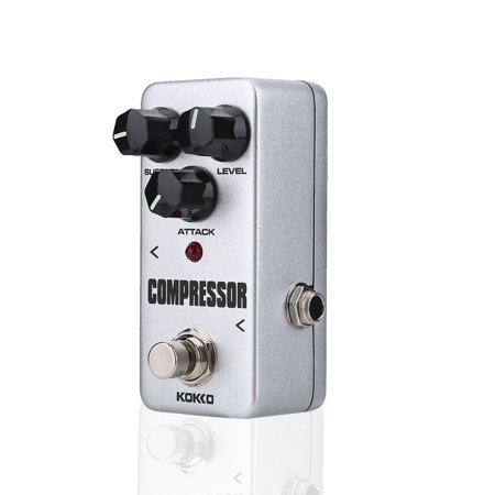 EECOO FCP2 Compressor Sustainer Mini Effect Pedal for Electric Guitar Accessories FCP2 Effect Pedal Guitar