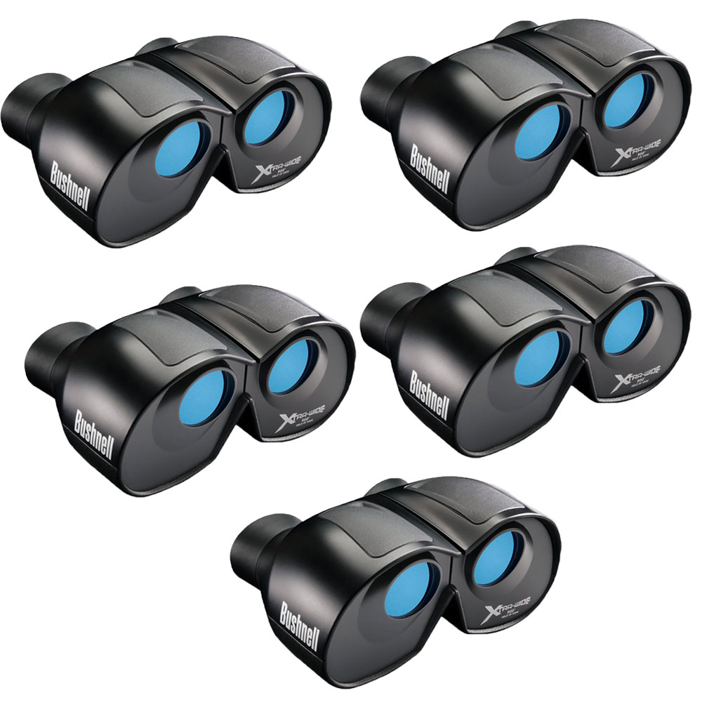 Bushnell Spectator 4x Magnification 30mm 900 Foot Wide View Binoculars (5 Pack)