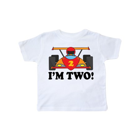 Race Car 2nd Birthday Boys Racing Toddler T Shirt
