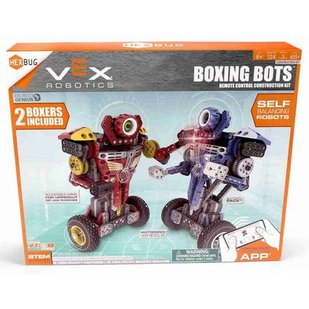 HEXBUG VEX Robotics Balancing Boxing Bots 2-Pack Kids RC Construction Kit STEM