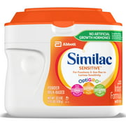 Similac Sensitive For Fussiness & Gas, Baby Formula, 6 Count Powder, 1.41-lb Tub