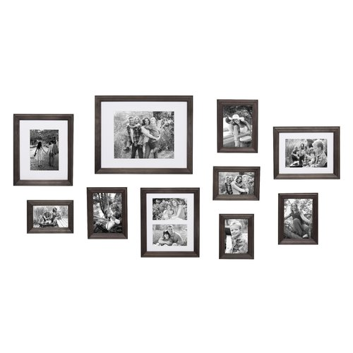 Gracie Oaks 10 Piece Mcclaskey Gallery Picture Frame Set Walmartcom