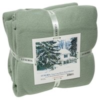 LUXURIA Micro FULL Blanket , SAGE