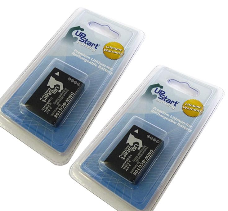 2x Pack - Panasonic Lumix DMC-ZS8 Battery - Replacement for Panasonic DMW-BCG10 Digital Camera Battery (1000mAh, 3.6V, Lithium-Ion) - image 2 de 2