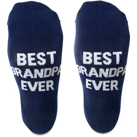 Pavilion - Best Grandpa Ever - Blue Mens Cotton Blend