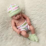 Newborn Reborn Infant Baby Doll Lifelike Realistic Silicone Vinyl Cloth Soft Sleeping Toy Toddler Kid Christmas Gifts