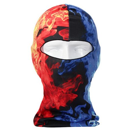 3D Printing Face Mask Cycling Bicycle Motorcycle Skull Cap Balaclava Headgear Hats Full Face