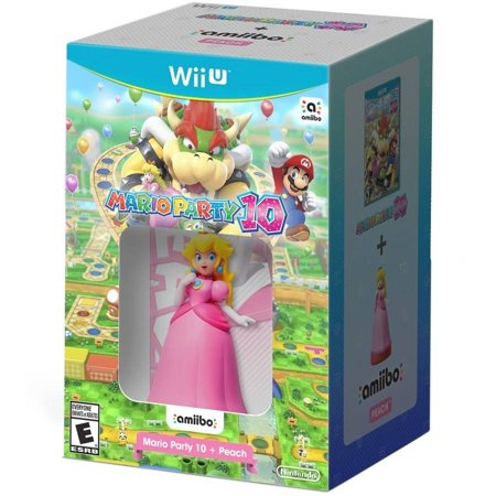 Mario Party 10   Peach Amiibo  Wii U
