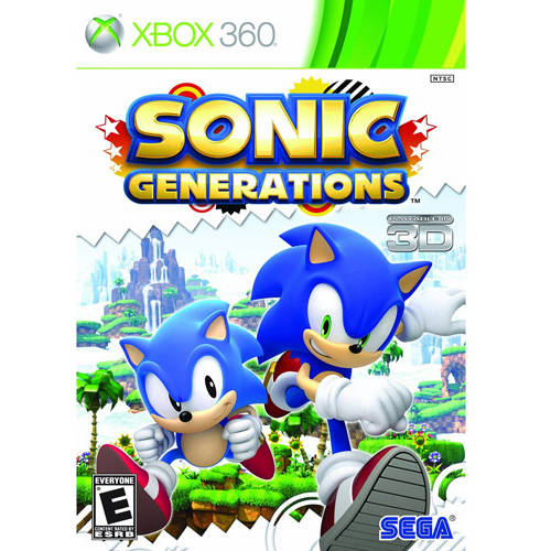 Sonic Generations (Xbox 360) - Pre-Owned