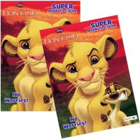 Lion King 80pg Coloring Book - 1PC