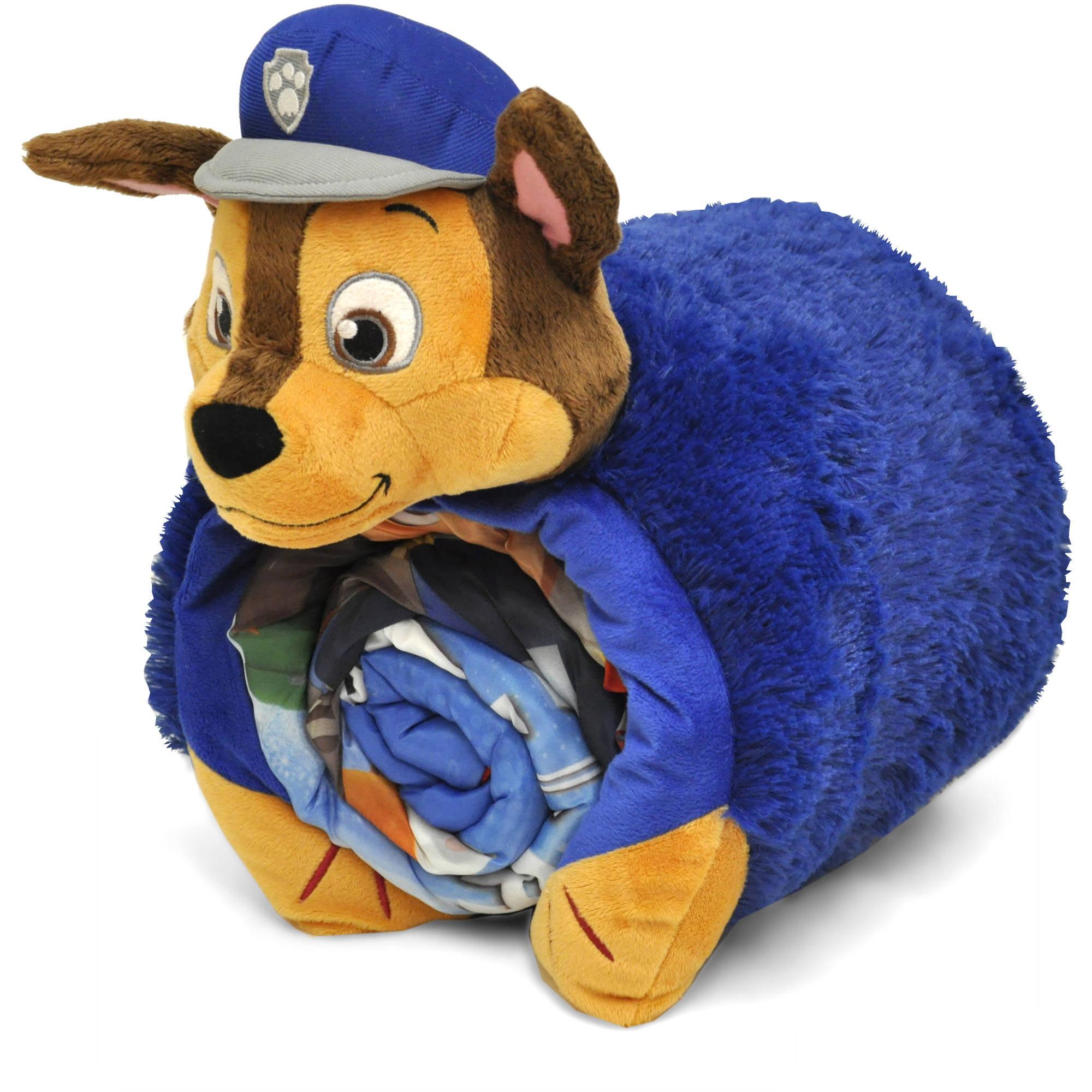 Paw Patrol Sleeping Bag with BONUS Cuddle Pillow