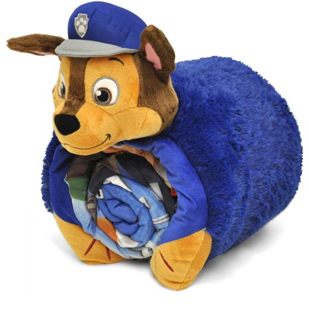 Paw Patrol Sleeping Bag With Bonus Cuddle Pillow Walmart Com