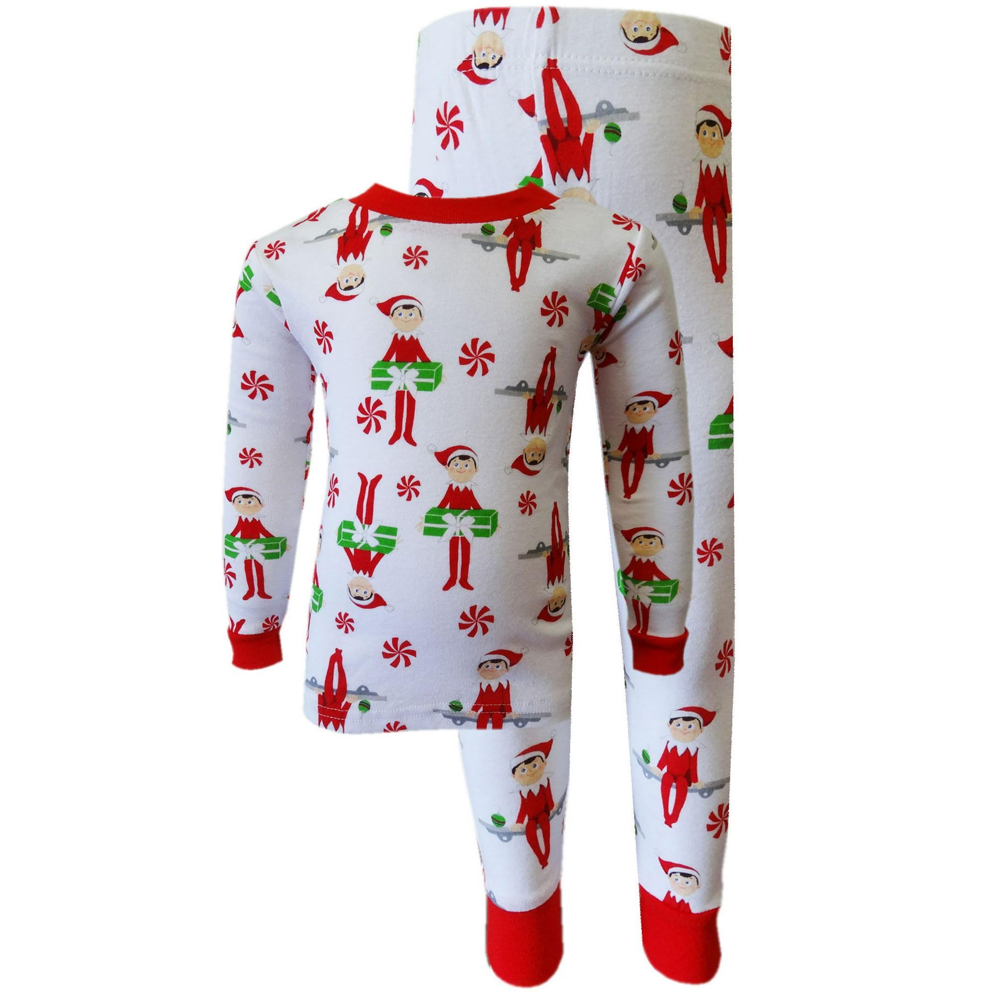 elf on the shelf 100 cotton christmas pajamas - Elf Christmas Pajamas