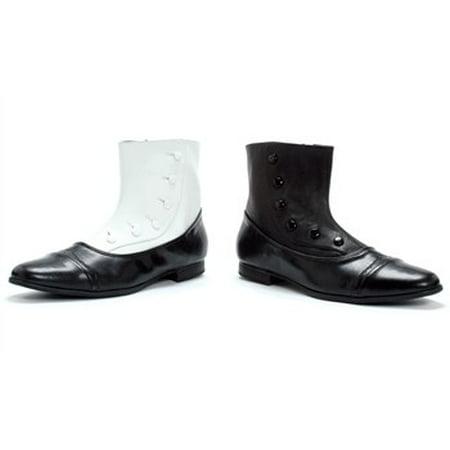 121-EARL,1'' Spat Shoes Mens - Gh 12+1 Halloween