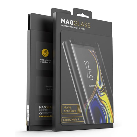 Magglass Galaxy Note 9 Matte Screen Protector - Fingerprint Free Tempered Glass Reinforced Anti Glare Screen - Anti Glare Screen Protection