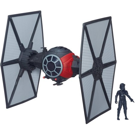 Star Wars The Force Awakens 3.75-inch Vehicle First Order Special Forces TIE Fighter (Star Wars Hooded Creatures)