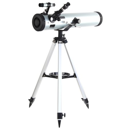 Meigar 700-76 Astronomical Telescope Pro Seben Zoom Enlarge Star Space Reflector type For Kids Sky Star