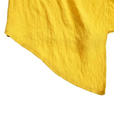 Women Off Shoulder Playsuit Tie Waist Back Zipper Sleeveless Asymmetric Jumpsuit Romper Bodysuit - image 3 de 7