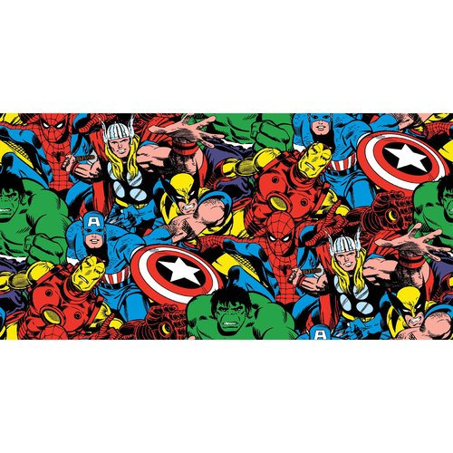 "Springs Creative Creative Cuts ""Marvel Comic Pack"" Fabric, 2 Yard Bolt, Multi Color"