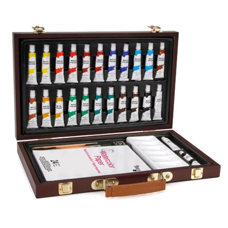 Darice Studio 71 Watercolor Painting Set, 34 Pieces