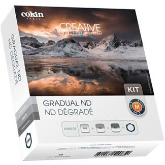 Cokin Graduated ND Filter Kit P Series, with Filter Holder & Graduated ND Filters (121L, 121M,