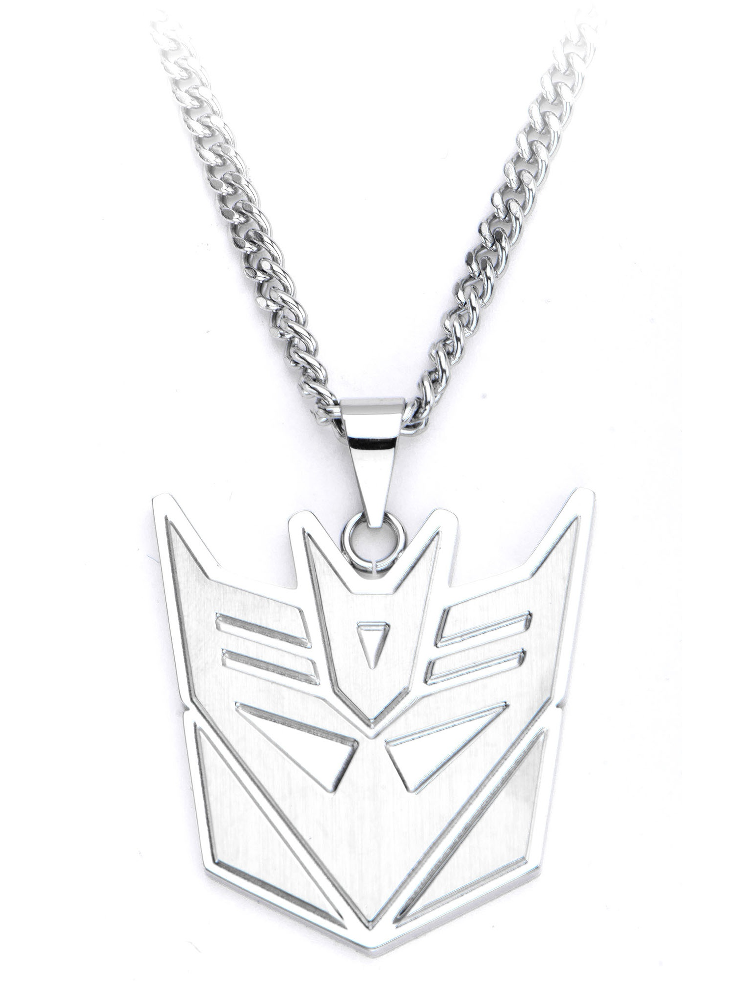 Hasbro Transformers Decepticon Steel Pendant with Chain