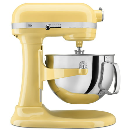 KitchenAid KP26M1XMY Pro 600 Series 6 Quart Bowl-Lift Stand Mixer, Majestic