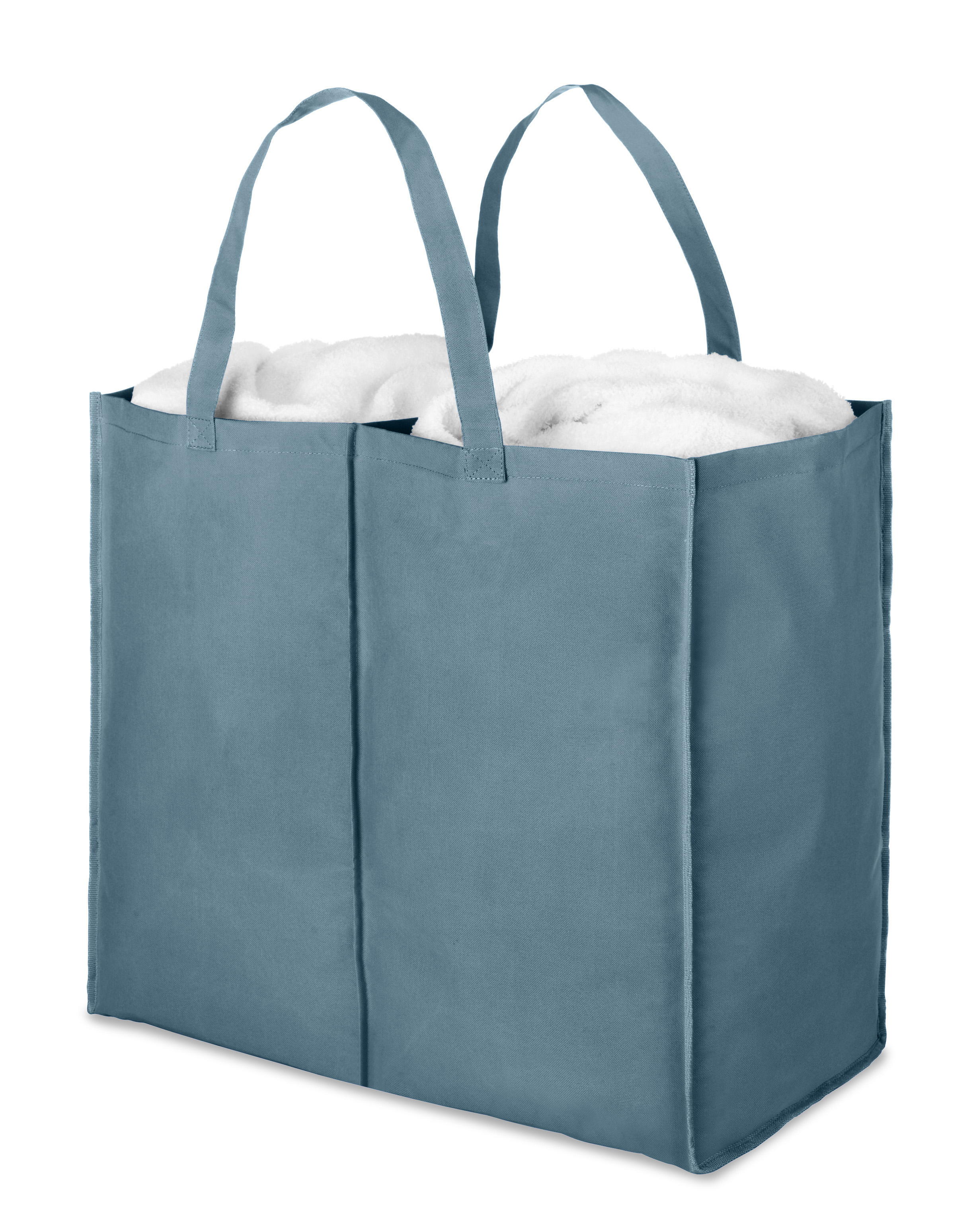 Berry Blue Double Hamper Bag By Whitmor Walmart Com