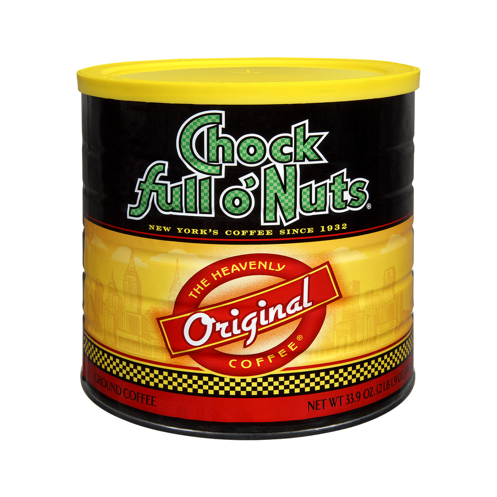 Chock Full O' Nuts Original Roast Ground Coffee, 33.9 OZ