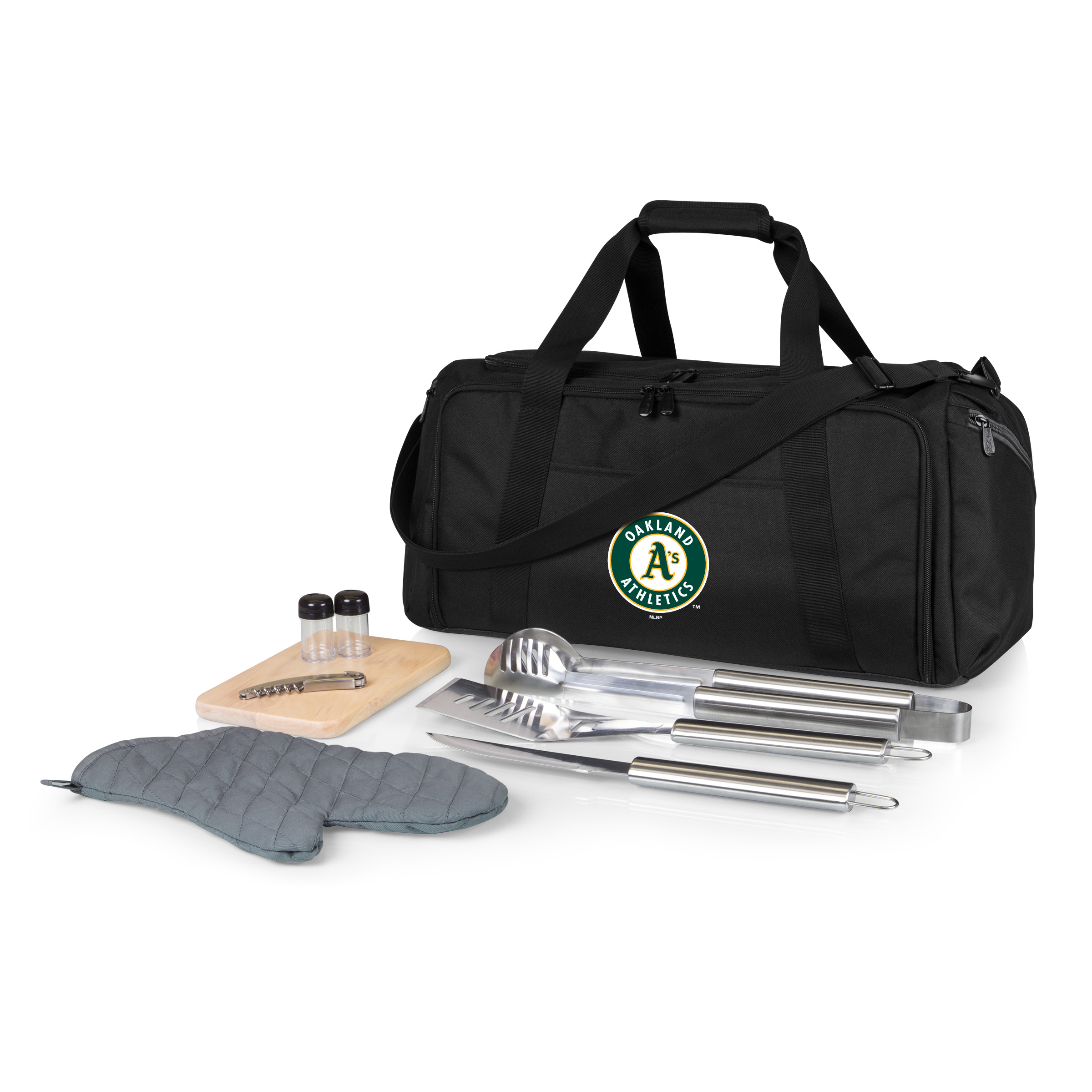 Oakland Athletics BBQ Kit Cooler - Black - No Size