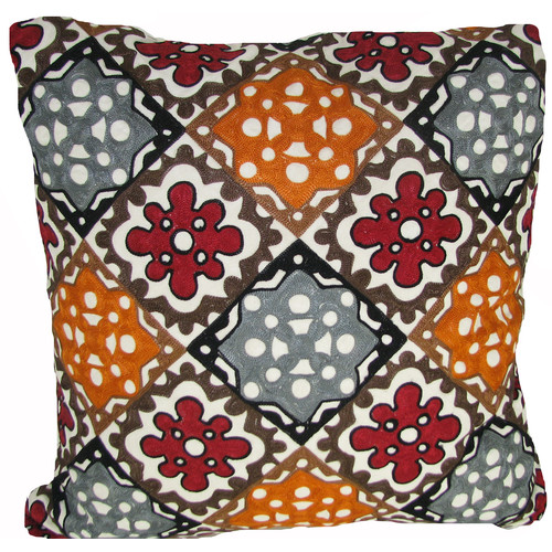 Design Accents LLC All Over Rusty Throw Pillow