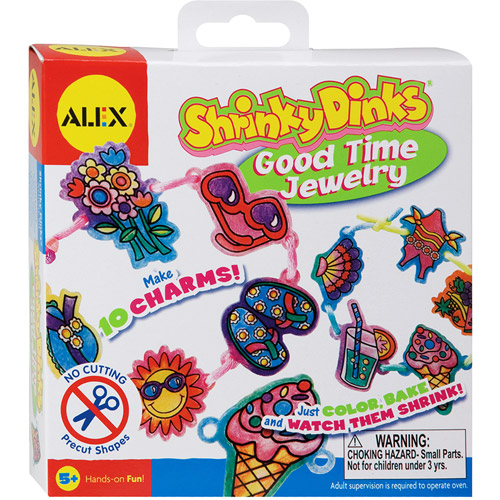 Shrinky Dinks Kit-Good Time Jewelry