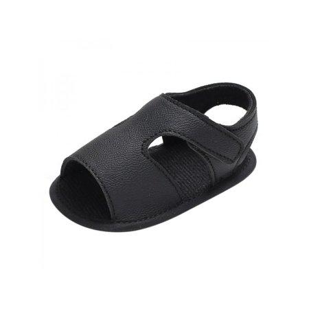 93454fb2e77f Maxsun - MAXSUN Infant Newborn Toddler Baby Boy Solid Sandals Soft Sole  Crib shoes - Walmart.com