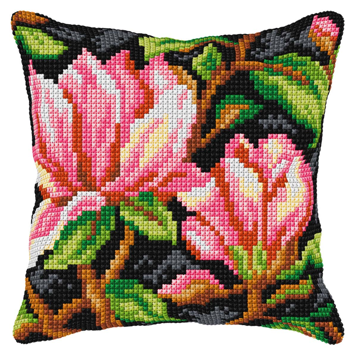 Orchidea Her First Lesson Needlepoint Canvas