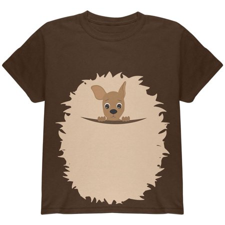 Halloween Kangaroo Costume Youth T Shirt - Kangaroo Costume Halloween