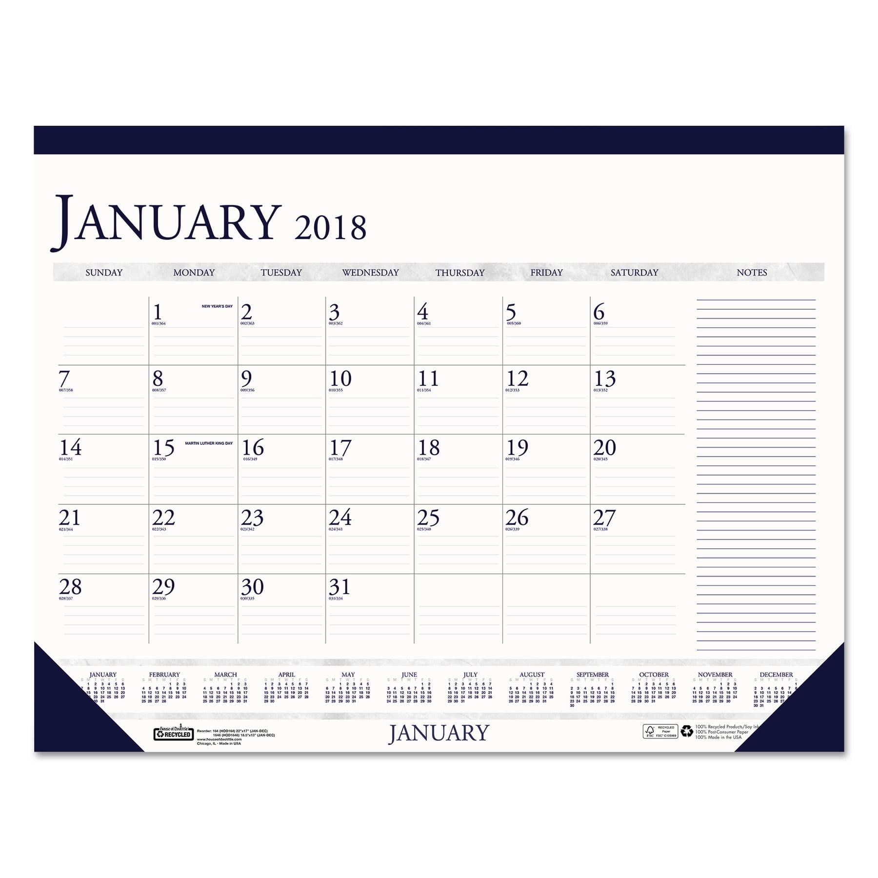 Desk Calendars Walmart Com