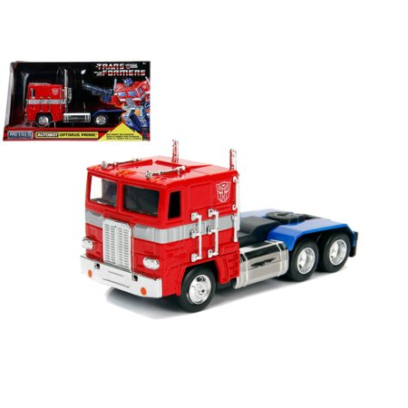 - JADA 1:32 W/B - METALS - HOLLYWOOD RIDES - TRANSFORMERS - G1 OPTIMUS PRIME (RED) 99477