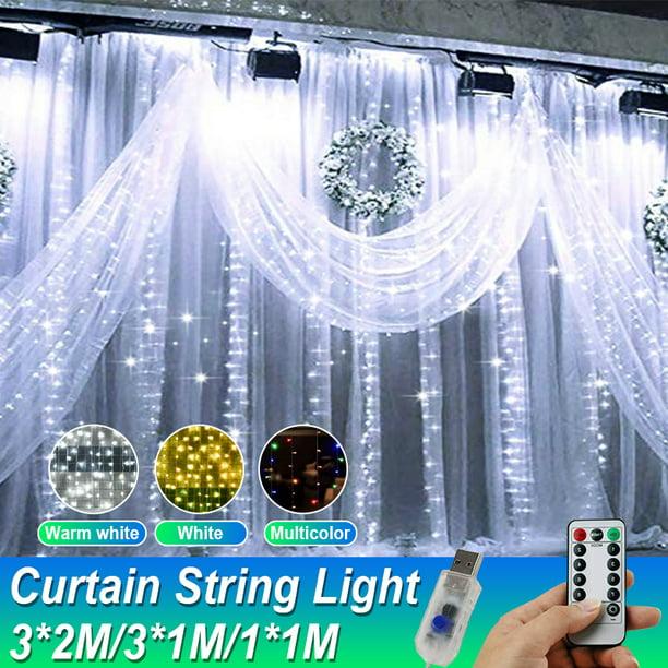 6.5/3.2*9.8Ft Curtain Light Fairy String Lights Indoor