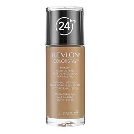 Revlon ColorStay Makeup , Normal/Dry Skin, Natural Tan 330, 1