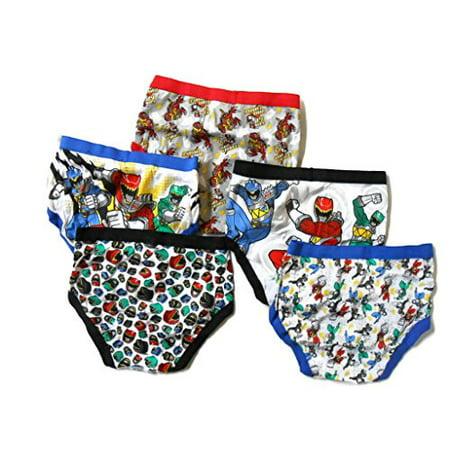 Handcraft Little Boys' Power Rangers Brief (Pack of - Power Ranger Underwear